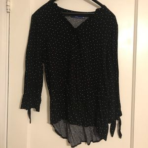 Apt 9 Polka Dotted Blouse